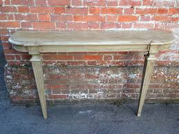 Antique Console Table A Useful Size Antique 19th Century Carved Wood Painted