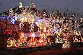vibrant christmas decorations outside excellent how to hang lights