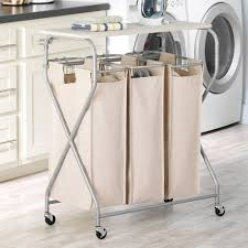 Laundry Sorter With Folding Table Easy Lift Laundry Sorter With Folding Table Walmart