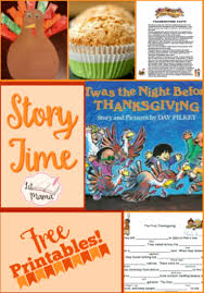 story time twas the before thanksgiving activities include