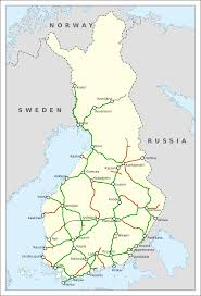 Train Map Italy by Rail Transport In Finland Wikipedia