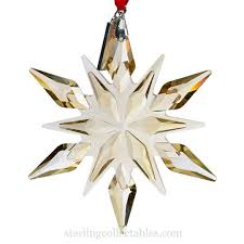 2015 mikasa snowflake ornament sterling collectables