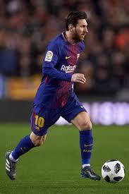 Lionel Messi Leg Valencia V Barcelona Copa Semi Second Leg Lionel