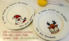 christmas plate personalized christmas plate giveaway with lollipots mobile