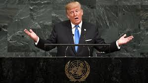 Trump Kumbaya Trump Show Gets Surreal In Bellicose United Nations Speech