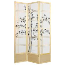 Wood Divider by Screen Room Divider Roundhill Furniture Giyano 4 Panel Screen