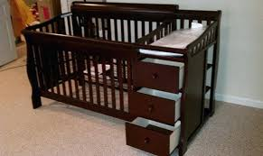 Changing Table And Crib Crib With Changing Table Kulfoldimunka Club
