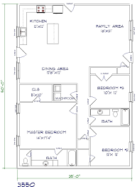 30x50 House Floor Plans Bright And Modern 4 30x50 House Plans With Loft 30 X 50 Floor Plan