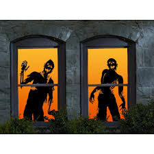 assorted halloween gel window clings these diy halloween window