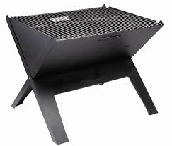 Flat Packed Portable Fire Pit From Boutique Camping Uk - outwell cazal portable grill campingworld co uk