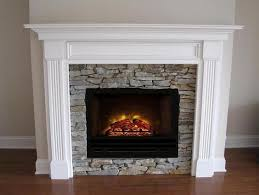 Electric Insert Fireplace White Electric Fireplace Insert Leesburg Mantel White Hf 42