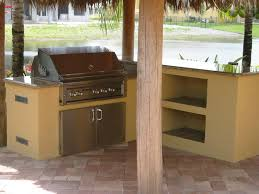 lynx built in bbq grill in custom grill island and outdoor bar