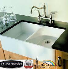 Double Belfast Sink EBay - Belfast kitchen sinks