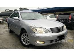 2004 model toyota camry toyota camry 2004 e 2 0 in kuala lumpur automatic sedan silver for