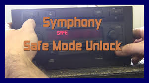 audi a6 allroad c5 symphony safe mode unlock 2002 2005 youtube