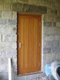 wooden side doors for garage designs