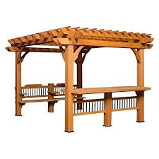 Prefab Pergola Kits by Pergola Kits Amazon Com
