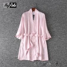 robe de chambre pour spa en mousseline de soie robes pour femmes peignoirs spa