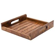 wooden serving tray indian rosewood sheesham handmade buy hashcart indian rosewood sheesham wood handmade handcrafted