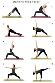 Home Yoga Routine by Flow Sequence Of Classic Standing Poses For Home Practice