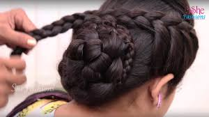 pics of bridal hairstyle bridal bun hair style for long hair ladies hair style tutorials