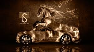 ferrari horse wallpaper ford mustang gt fantasy horse smoke car 2014 el tony