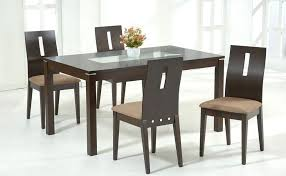 glass dining room table set contemporary glass dining table sets contemporary