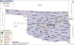 okc zip code map oklahoma state map state map of oklahoma