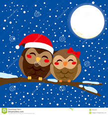 owl christmas christmas owl stock vector illustration of 46050591