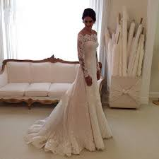 Aliexpress Com Buy Lamya Vintage Sweatheart Lace Bride Gown Compare Prices On Vintage Wedding Dress Long Train Online