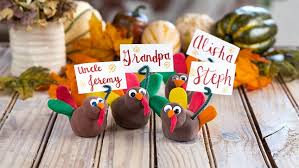 thanksgiving place cards craft crayola