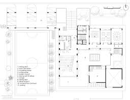 2nd floor plan gallery of chilbo culture centre for youth studio in loco