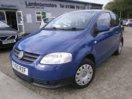 used volkswagen fox blue for sale motors co uk