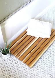 Zen Bath Mat Bamboo Bath Mat Bosli Club