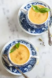 Urban Dictionary Soup Kitchen - chilled cantaloupe soup lakeside table