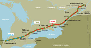 Map Montreal Canada by The Great Black North The Pipeline Reversal Map That Will Terrify