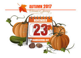 usa thanksgiving day 2017 november 23 festive date in the calendar