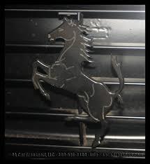 ferrari horse vs mustang horse ferrari collection at the fort lauderdale swap shop aa car transport