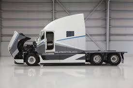 freightliner u0027s supertruck freightliner trucks pinterest