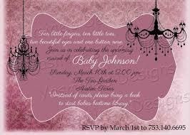 shabby chic baby shower free printable invitation design