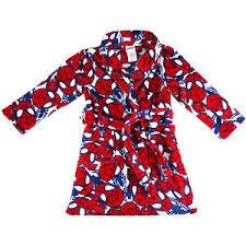 spiderman winter kids boys dressing gown sleepwear rob nightwear