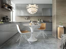 High Gloss Dining Table And Chairs Modloft Waterloo 36 Dia Dining Table Mej10009 Official Store