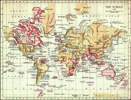 Cayman Islands Map In The World by The British Empire In Victorian Times