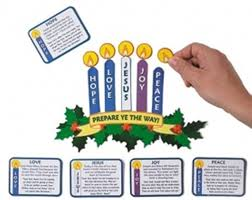 advent candle lighting order amazon com magnetic advent wreath and candles for christmas