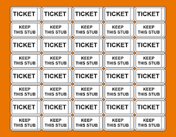 avery tickets template avery printable tickets raffle tickets without numbers png scope