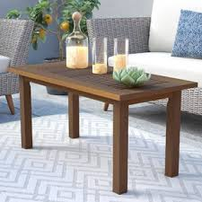 End Table L Combo Outdoor Coffee Tables You Ll Wayfair