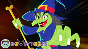 halloween songs for kids i u0027m a crazy witch by howdytoons youtube