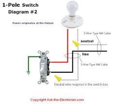 wiring diagram for a single pole light switch u2013 readingrat net