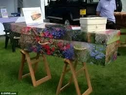 cardboard coffin relative blocked from cremating in cardboard coffin because