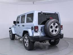 jeep arctic edition used 2012 jeep wrangler unlimited sahara artic edition suv for